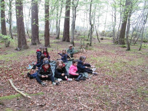 outdoor learning in the woods 057