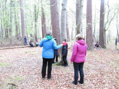 outdoor learning in the woods 059