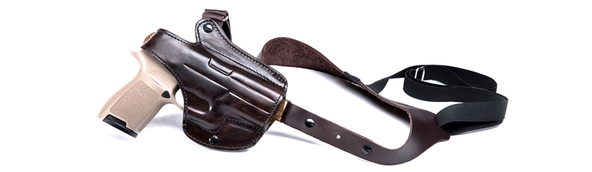 Kirpatrick Leather Leather Shoulder Holster for Sig Sauer P320 Pistols