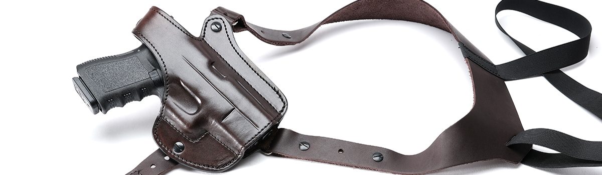 Kirkpatrick leather Glock shoulder holster