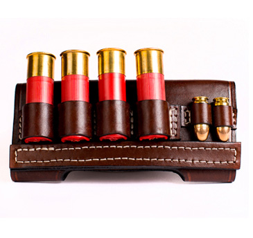 Kirkpatrick Leather Wild bunch shell holder
