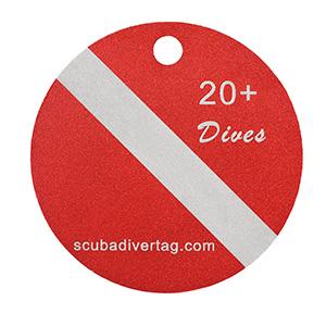 ScubaDiverTag available @ Kirk Scuba Gear