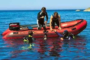 Inflatable Dive Boat