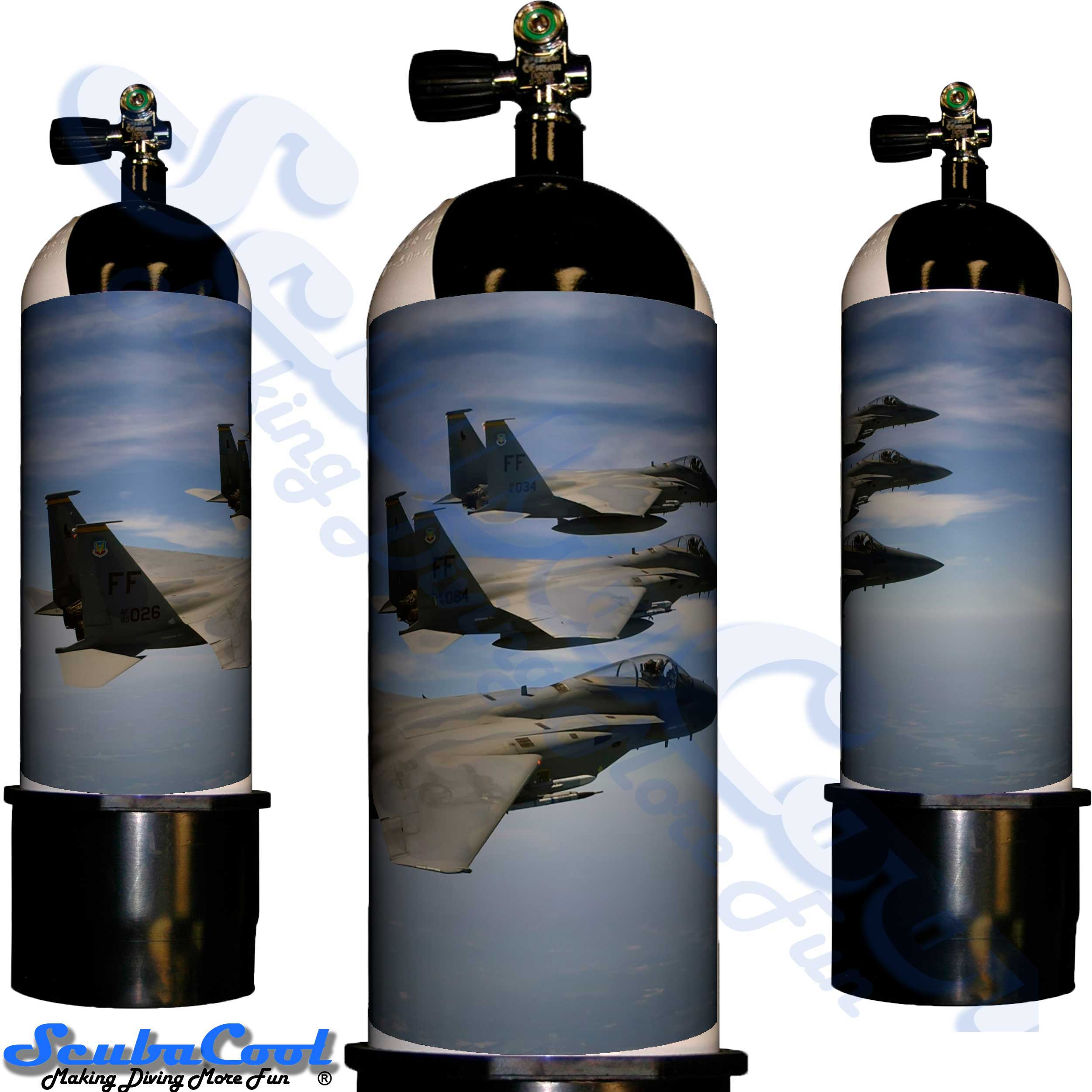 2213 Scubacool Scuba Dive Gas Cylinder Tank Cover NOT neoprene