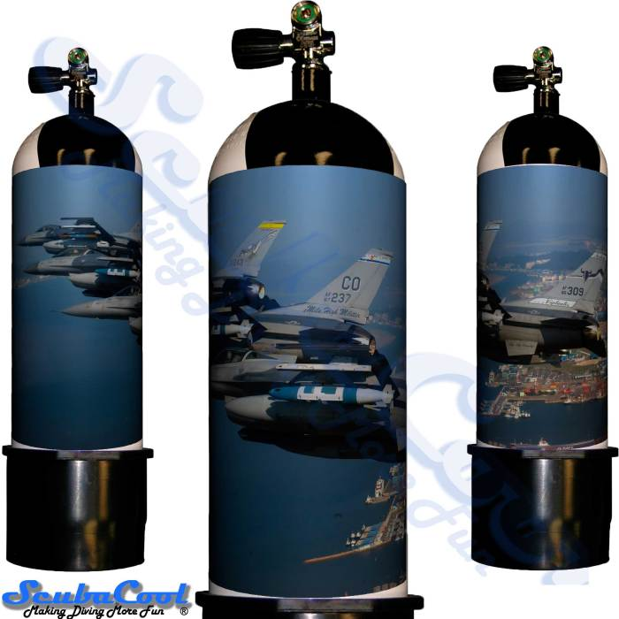 2217 Scubacool Scuba Dive Gas Cylinder Tank Cover NOT neoprene