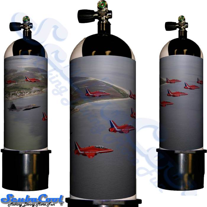 2222 Scubacool Scuba Dive Gas Cylinder Tank Cover NOT neoprene