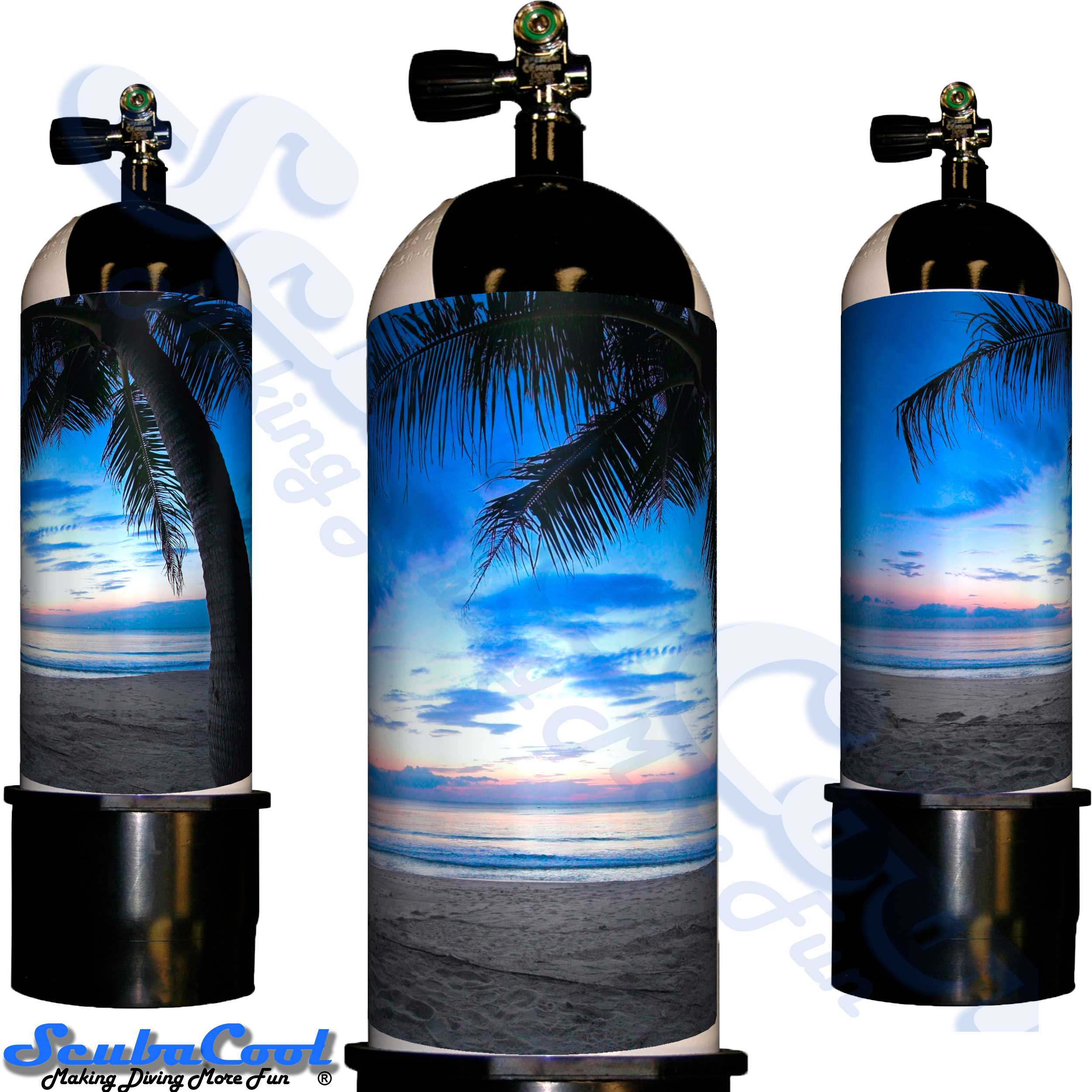 3304 Scubacool Scuba Dive Gas Cylinder Tank Cover NOT neoprene