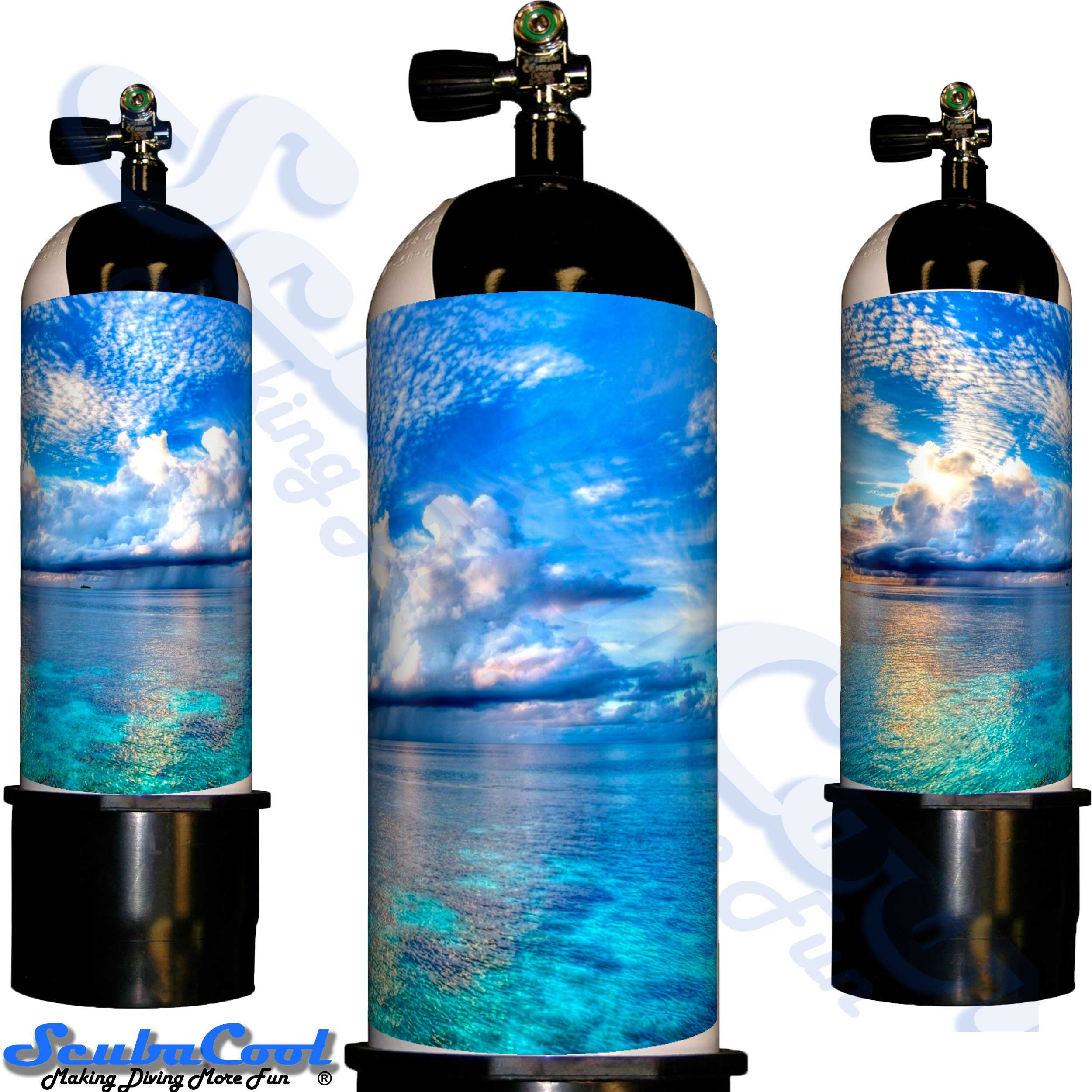 3305 Scubacool Scuba Dive Gas Cylinder Tank Cover NOT neoprene