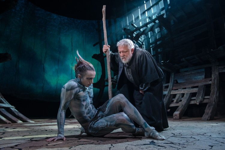 The Tempest production photos 2016 press call 2016 Photo by Topher McGrillis  c RSC 207549