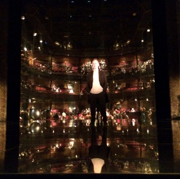 Antonio on stage