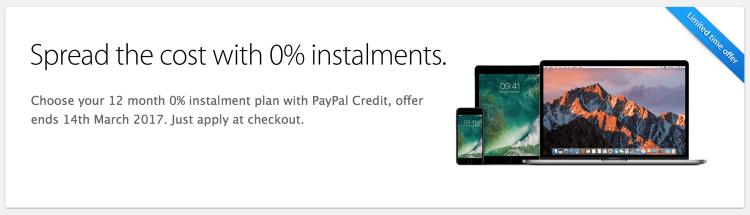Apple 0 percent