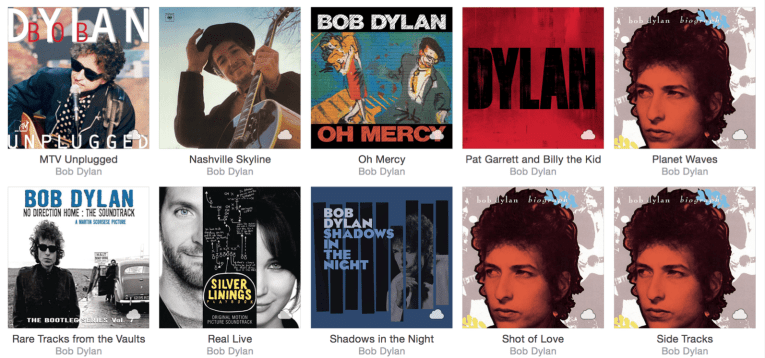 Apple music album artwork