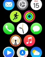 Applewatch home screen watch