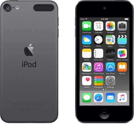 Black ipod touch