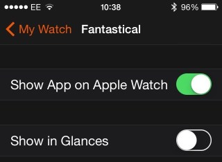 Delete app watch app