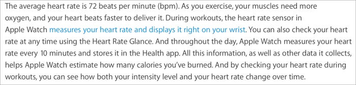 Heart rate tech doc
