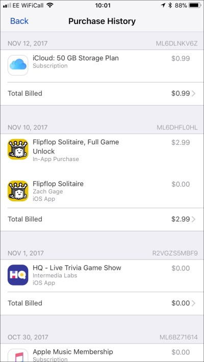 How to See Your iTunes Purchase History - TekRevue