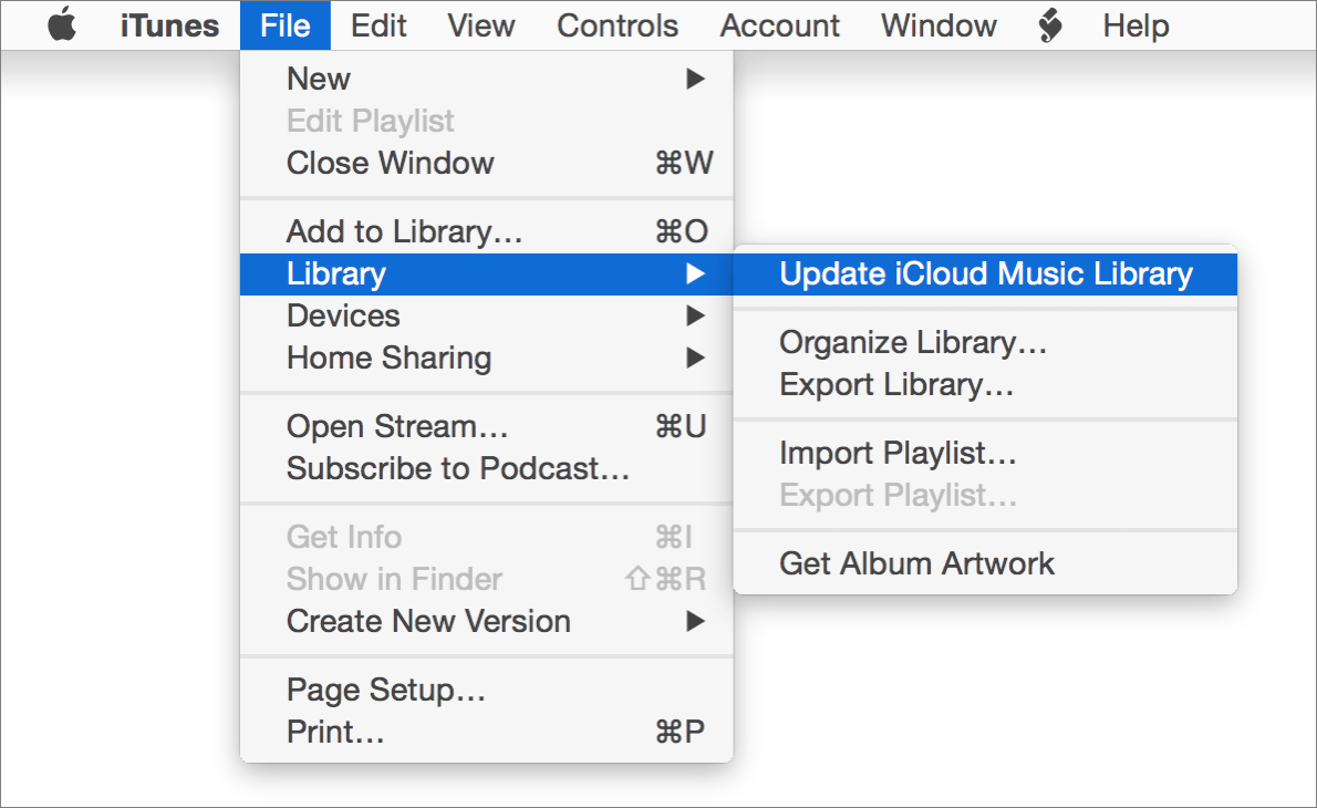 Kirkville - How to Update Your iCloud Music Library