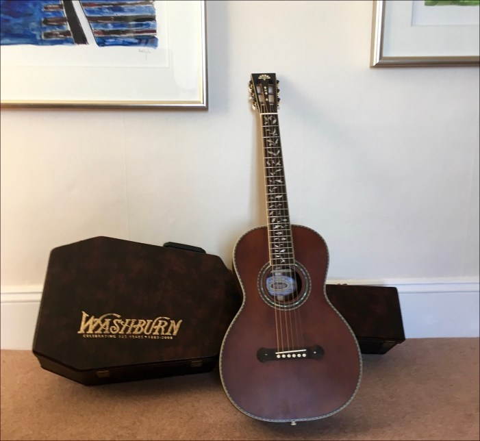 Washburn parlor guitar