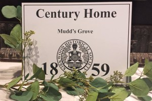 Century Home Plaque