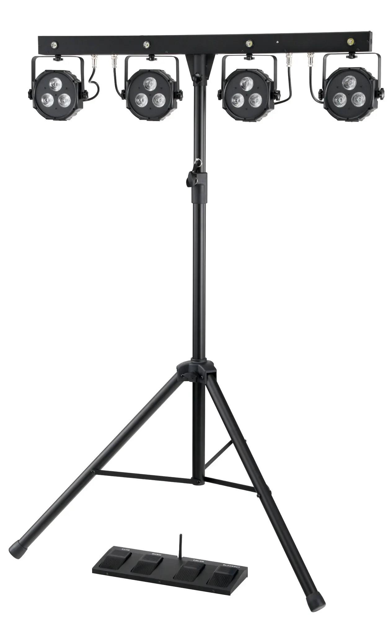 Showlite Lb Led Komplettanlage Rgb Licht System