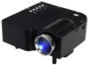 High-quality mini projector for home theater & Office