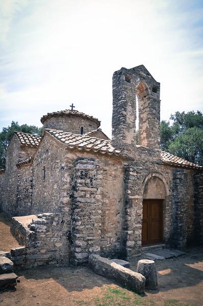 Byzantine St. George Church - Island of Naxos, Greece