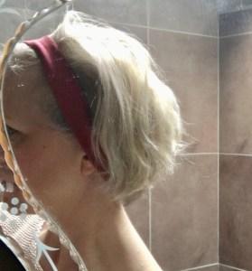 Make a hair band