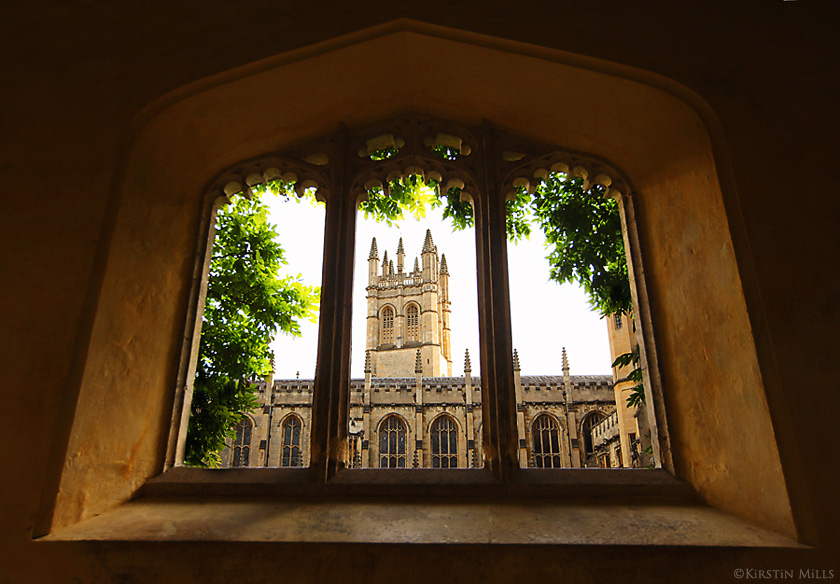 Magdalen College, Oxford by Kirstin Mills