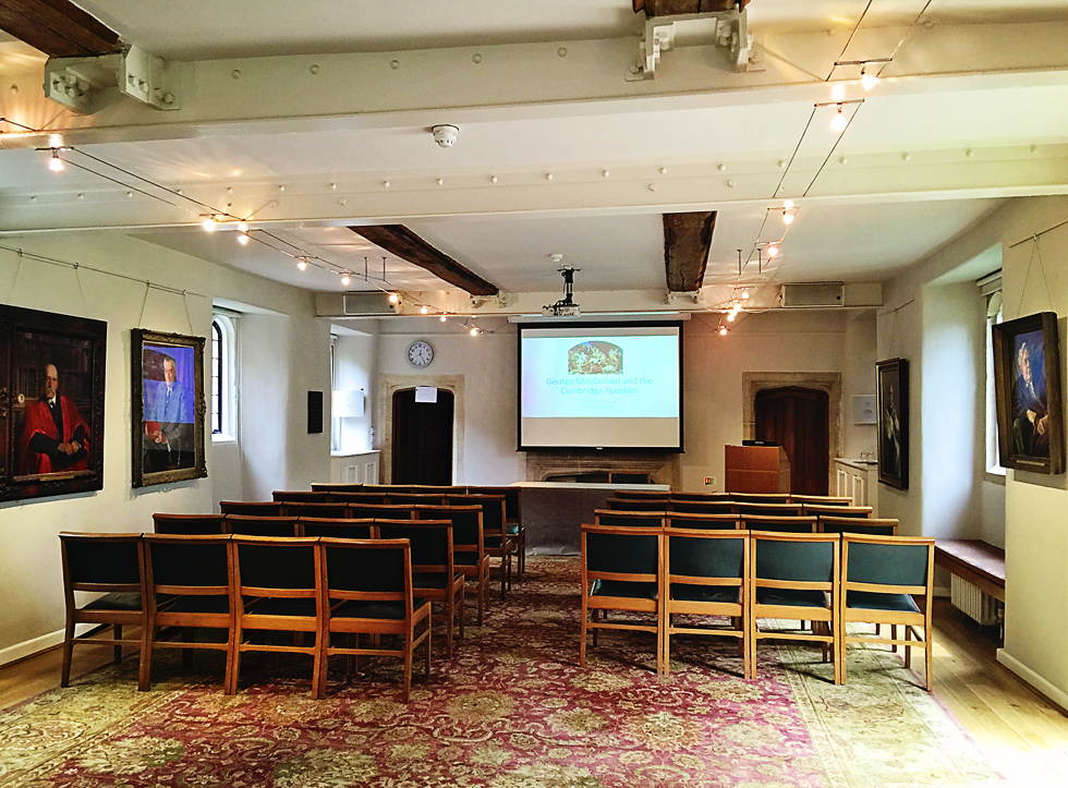 George MacDonald and the Cambridge Apostles: An Academic Conference at Trinity Hall, Cambridge