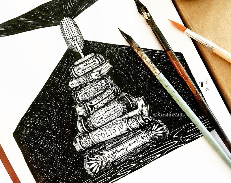 Designing a Logo for Macquarie University's Literature Podcast