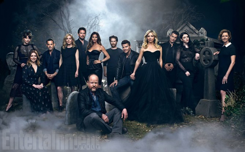Buffy Reunion, Entertainment Weekly, Buffy the Vampire Slayer, Buffy Cast, 20th Anniversary