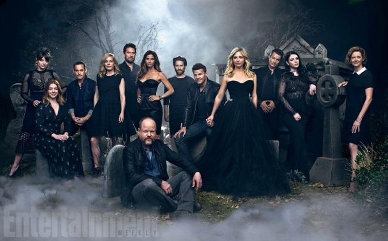 Buffy Reunion, Entertainment Weekly, Buffy the Vampire Slayer, Buffy Cast, 20th Anniversary