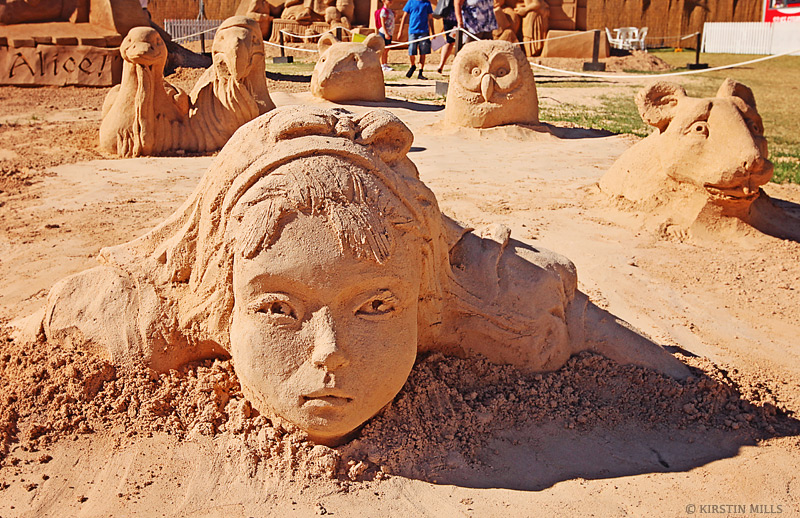Alice in Wonderland, Sand Sculpture, Sand, Sand Sculpting, Sand Sculpting Australia, Exhibition, Lewis Carroll, Fantasy, Sculptures, Review