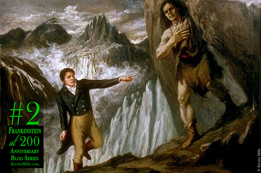A Frankenstein Travel Guide: Mary Shelley's Journeys into the Sublime (Anniversary Series #2)