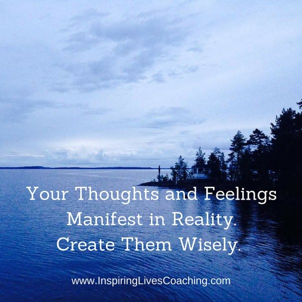 Thought for the day: Manifesting thoughts