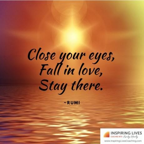 Rumi Quote - love