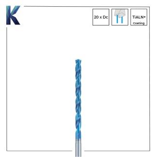 Nachi L x D 20 Solid Carbide Drills