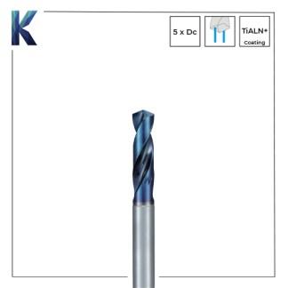 Nachi L x D 5 Solid Carbide Drills