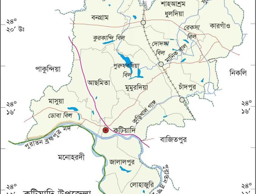 কটিয়াদী উপজেলা