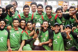 Bangladesh wins over New zealand
