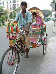 rickshwa in Bangladesh
