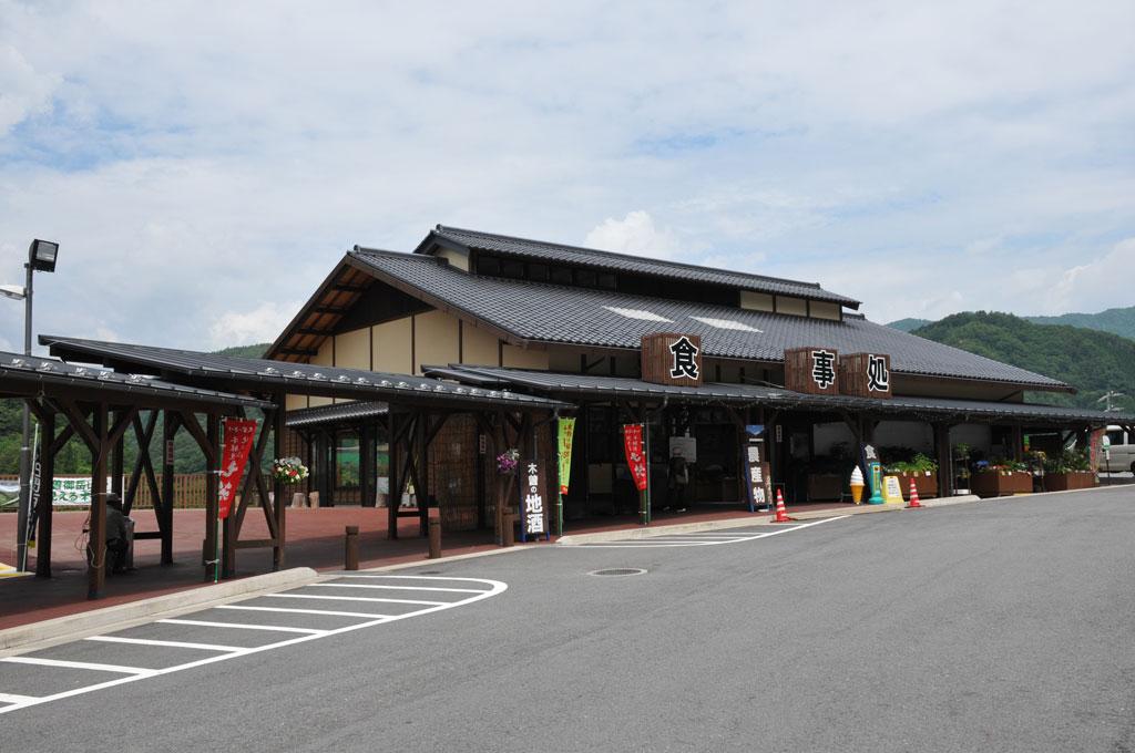 道の駅木曽福島(木曽市場)