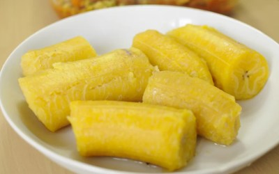 Des bananes plantains bouillies pour accompagner vos plats