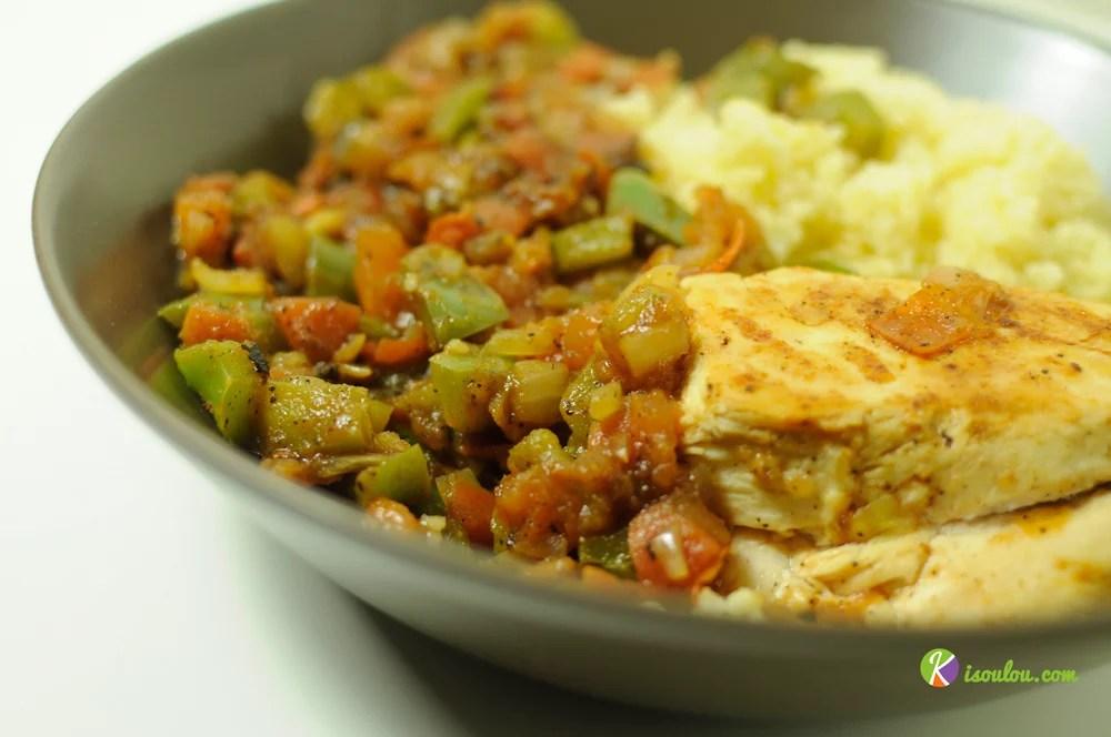 Régalez-vous avec notre recette de couscous de poulet aux légumes