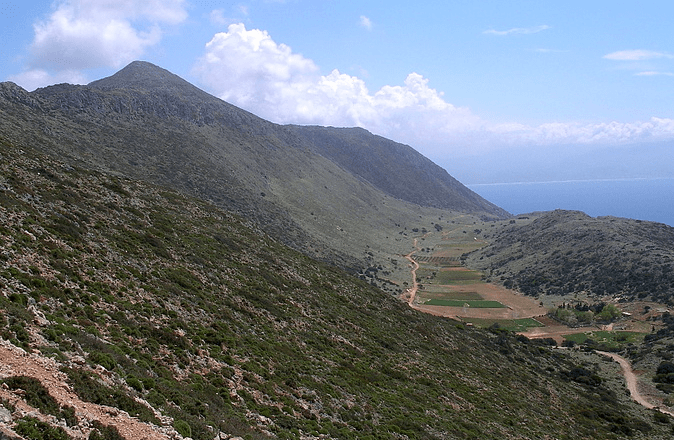Rodopou peninsula- Onichas summit - Agios Ioannis Gionis plain