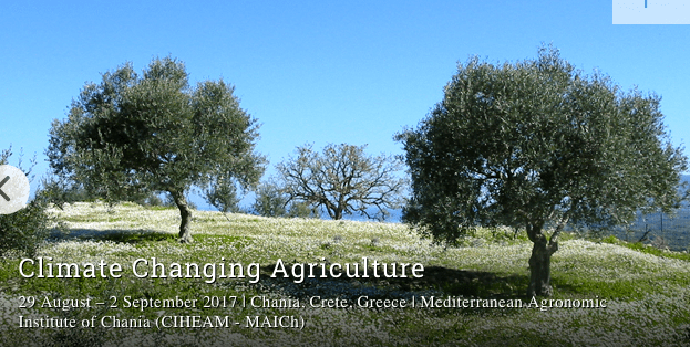 Climate Changing Agriculture