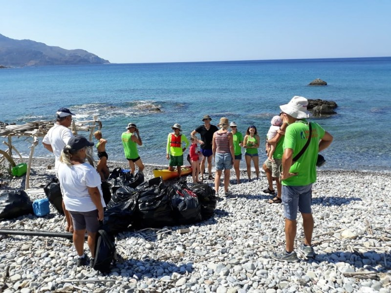 Beach Cleaning at Viglia, Sat 6th October