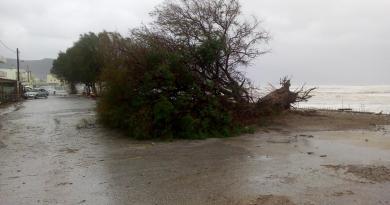 Powerful storm hits Kissamos