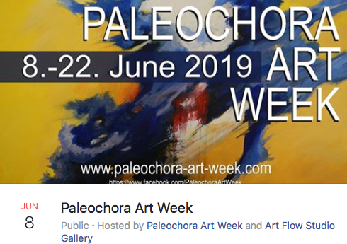 Paleochora Art Week 8th – 22nd June